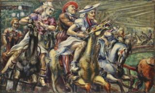 Marsh_wooden_horses_1936