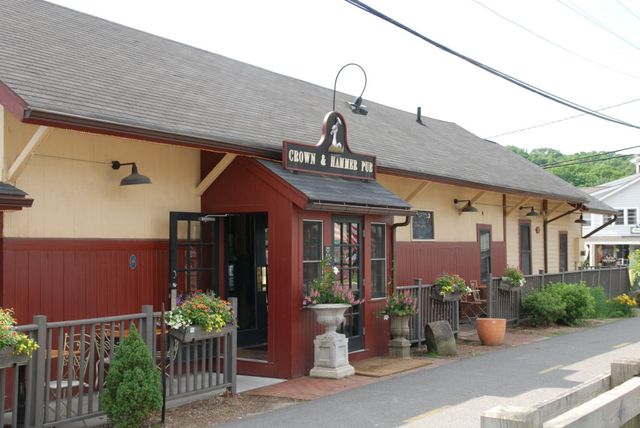 Crown & Hammer Pub/Old Freight Station